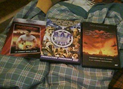 vente de 3 DVD