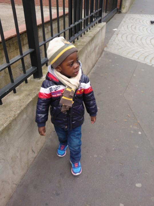 mon petit neveux trop mimi