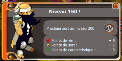 Up Niv.150 de L'enutrof le Radin