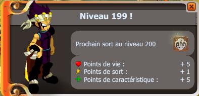 Up de mon Iop Niveaux.199!