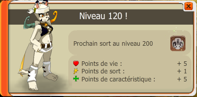 Ecaflipette Niveaux.120!