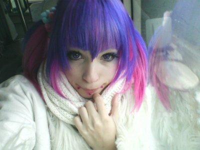 De quelle couleur mes cheveux sont actuellement ?!