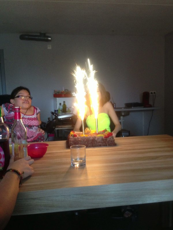 L'anniversaire de mes amies