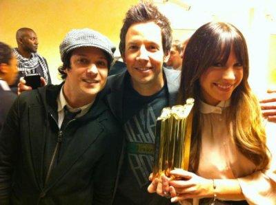 NRJ Music Award pour le groupe !