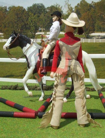 Paint Horse à l'essai