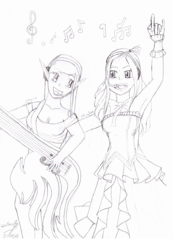 Mirajane & Shyra