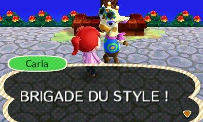 Animal Crossing New Leaf - Carla Brigade du style