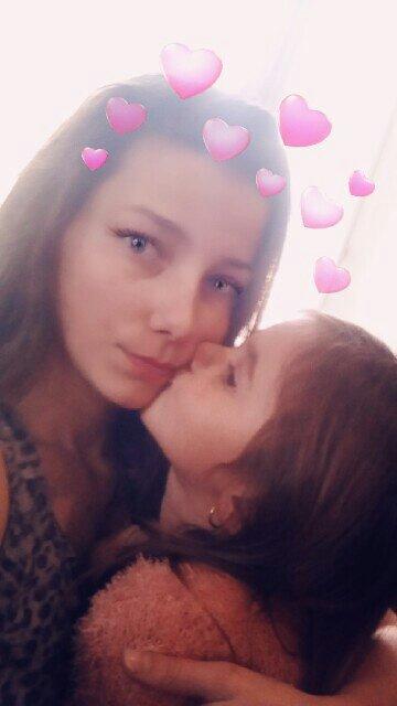 Que sa fait du bien de retrouvé sa filleule apres 1 semaine