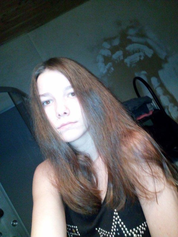 Voila mes cheveux maintemant je regrette sa me manque mes long cheveux 😢😢