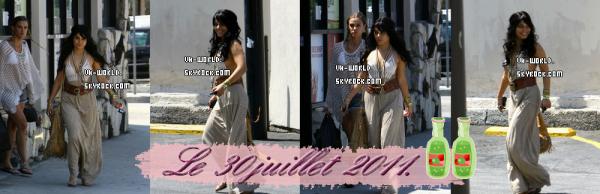 La première Affilée du blog ! (l) + Le 29/07/2011.Nessa a été vu dans L.A. faisant des courses pour une fête ! + Le 30/07/2011 Vanessa a été aperçu quittant un magasin d'alccool accompagné de Laura .