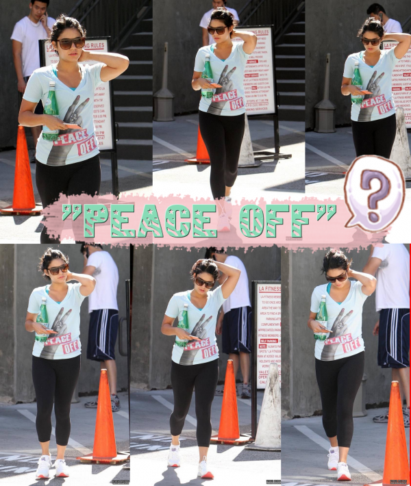 Le 03/08/2011.Photos personnels de Vanessa à Cannes.+ Une photo d'elle avec une fanatique ! :D + Nessa parti faire du Yoga dans L.A.