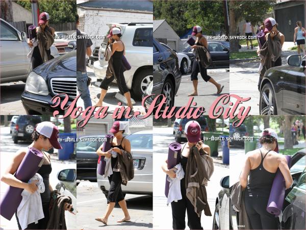 Le 31/08/2001.  Vanessa  partie à un cours de Yoga dans  Studio City  Puis elle est allé déjeuner avec Laura sa BFF,au Mare'ka.