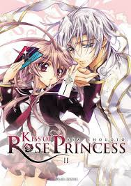 Les 3 premier tome de kiss of rose princess