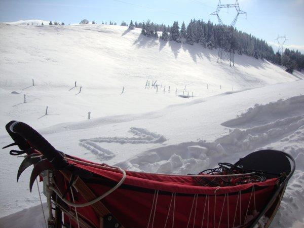 1er W-E de neige dans notre montagne :D