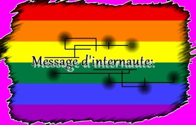 Message d'internaute...