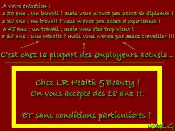 LR Health & beauty ! j ai un travail pour vous
