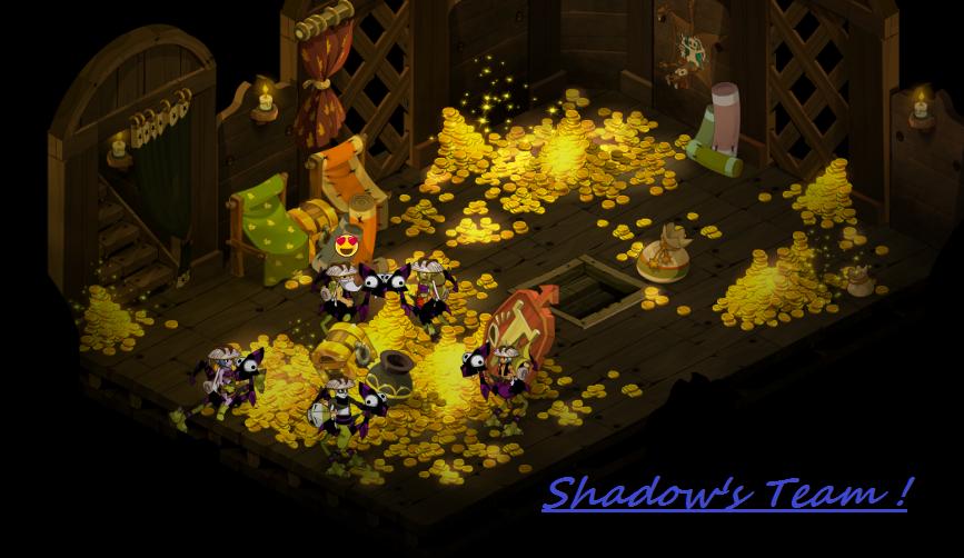 Histoire de la team Shadow sur le serveur Sumens et le jeu Dofus !