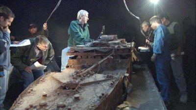 Maquettes épave Titanic