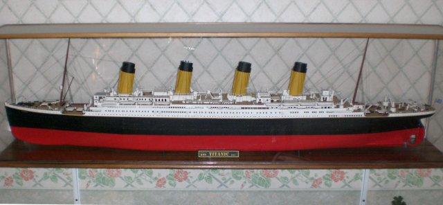 Mes maquettes du  RMS Titanic et du SS Nomadic
