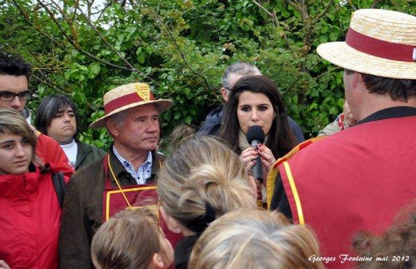 Inauguration du carrelet Grégory Lemarchal à Talmont