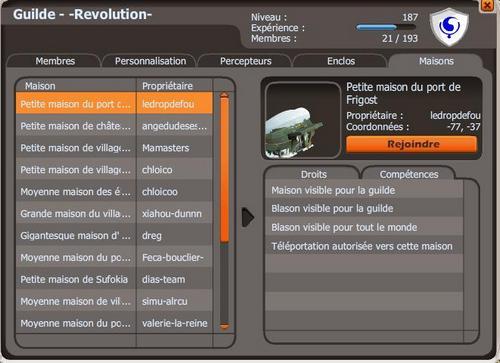 Présentation de la guilde -Revolution- par Arribeth