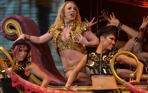 Britney a porto rico