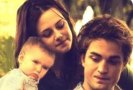 Edward, Bella et Reneesmee