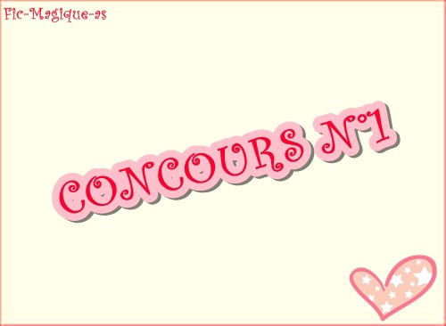 Concours n°1!