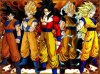 dragon ball z il se transforme en super sayan 3 maximome et deans dragon ball gt il se transforme en super sayan 4