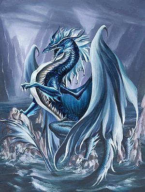 le dragon d'eau