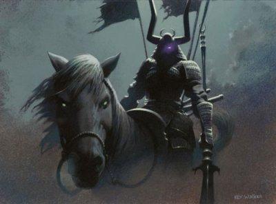 Histoire du chevalier noir.