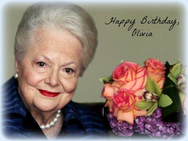 joyeux anniversaire 97 ans de olivia de havilland