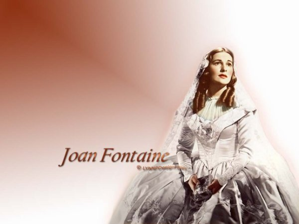 HOMMAGE A JOAN FONTAINE
