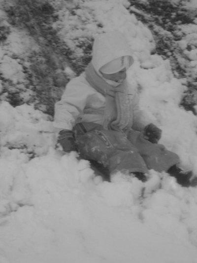 """""""Sous la neige ! :)"""""""