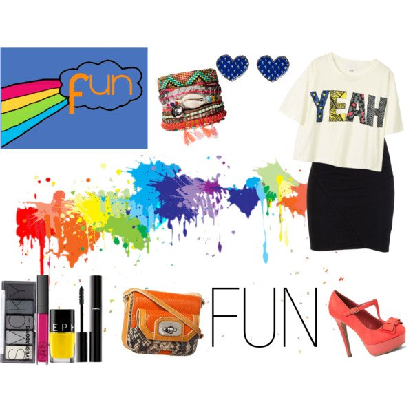 Tenue fun, flashy, colorée 2