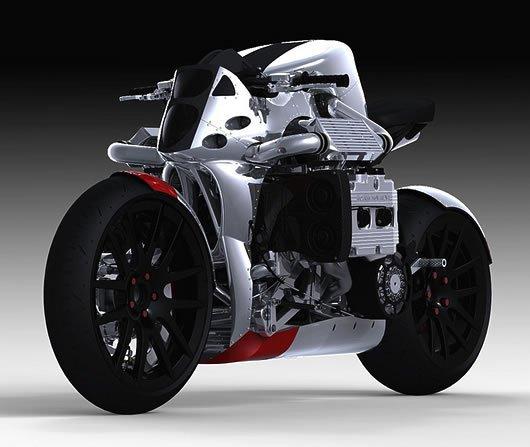 Moto futuriste : HONDA-CB-750