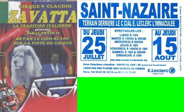 cirque claudio zavatta saint nazaire 2013 double