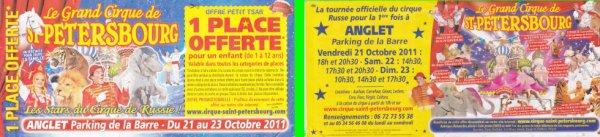 cirque de saint pétersbourg anglet 2011