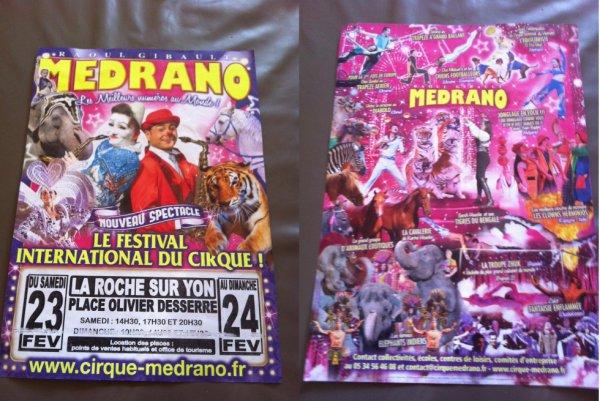 cirque medrano roche sur yon 2013