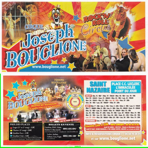 cirque joseph bouglione double