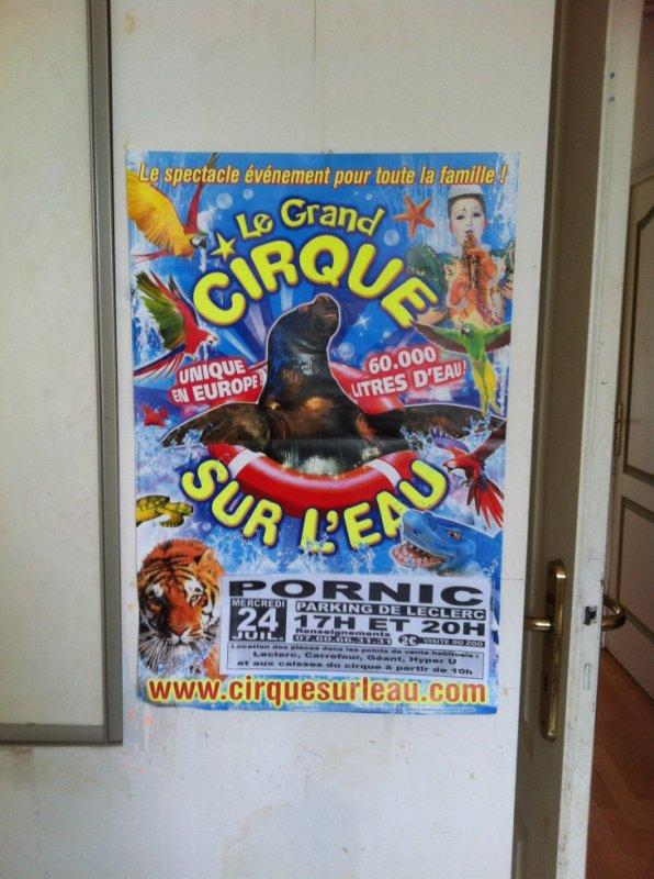 cirque sur l'eau 2013 pornic