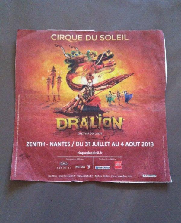 cirque du soleil Nantes 2013 double mais trover sur jouneau réfléchiser