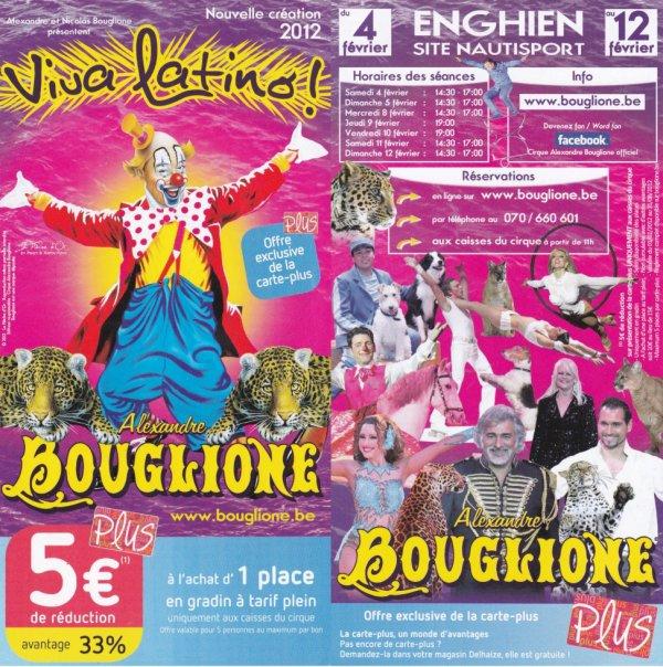 cirque alexandre bouglione 2012 Enghien