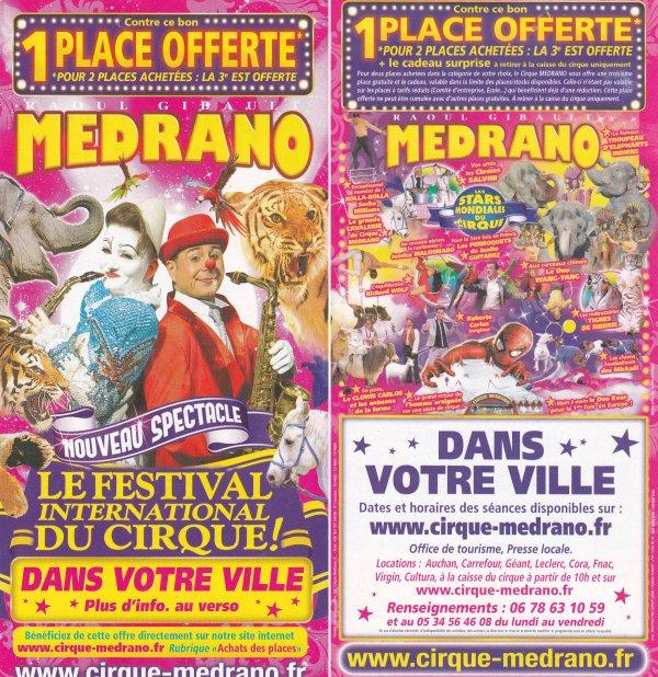 cirque medrano 2012 double