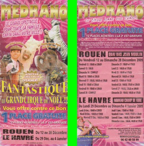 cirque medrano rouen et le havre 2008