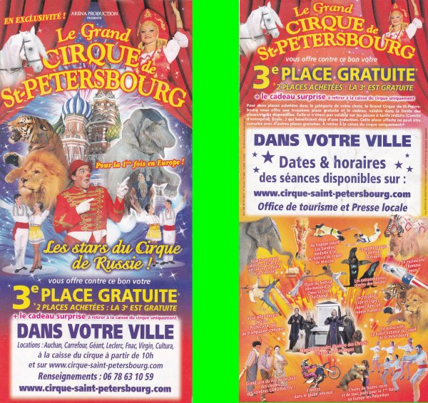 cirque de saint petersbourg 2010