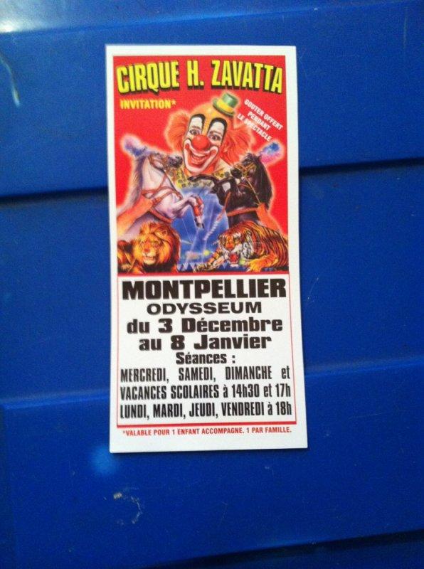 cirque Henri zavatta Montpellier