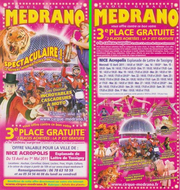 Cirque medrano Nice 2011