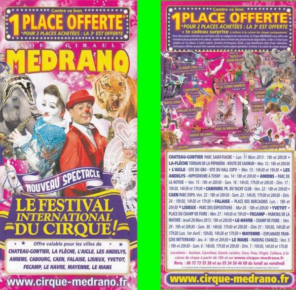 Cirque medrano 2013