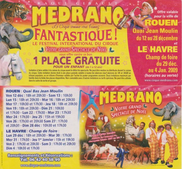 Cirque medrano 2009/2010